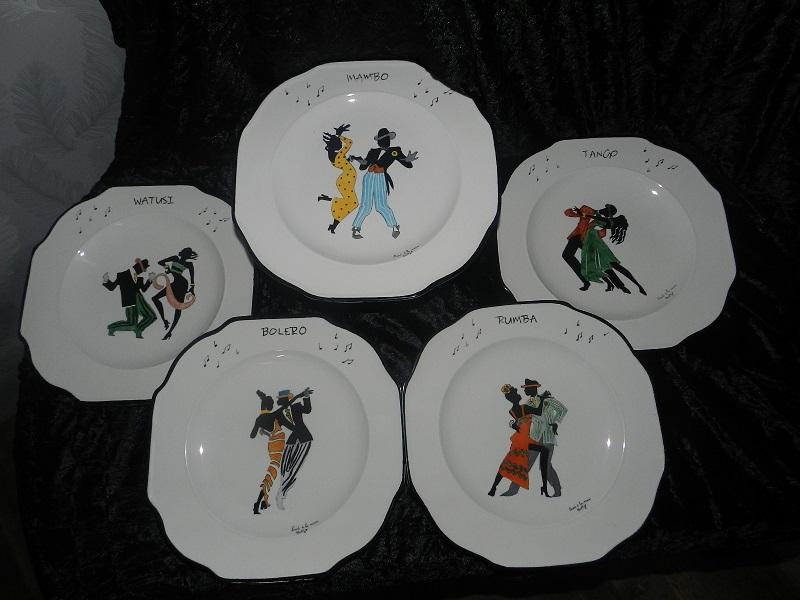 "Assiette "" Collection "" Jazz"