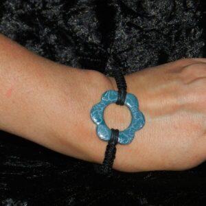 Bracelet Faïence Tissé